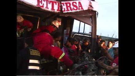 Policía investiga causas de trágico accidente en Trujillo