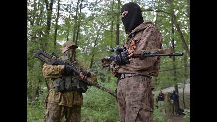 Combates en Ucrania llegan a la frontera con Rusia