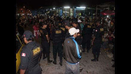 Chiclayo: identificarán a comerciantes que agredieron a serenos