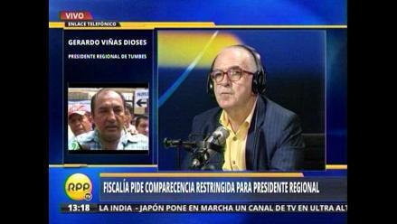 Gerardo Viñas: Soy completamente y totalmente inocente