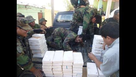Ayacucho: decomisan más de 100 kilos de clorhidrato de cocaína