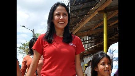 Primera dama visita Yurimaguas como presidenta del Partido Nacionalista