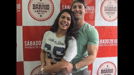 Vania Bludau confirma romance con Sebastián Lizarzaburu
