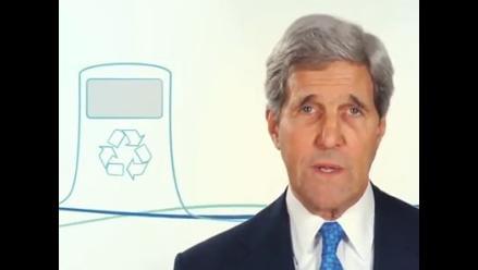 John Kerry llama en un video a proteger los océanos