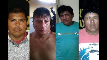 Capturan a cuatro sujetos con armas y municiones en Trujillo