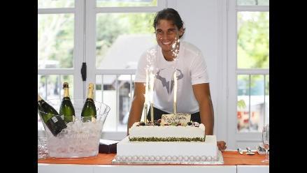 Roland Garros festejó los 28 años del español Rafael Nadal