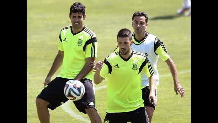 España esconde su primera sesión con Diego Costa en el grupo