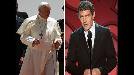 ¿Antonio Banderas interpretará al Papa Francisco?