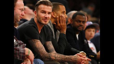 David Beckham filma documental a la selva