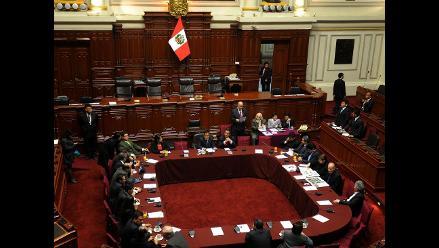 Congreso aprobó recomposición de la Comisión de Ética