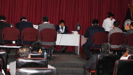 Chimbote: juzgado evalúa situación de dos implicados en