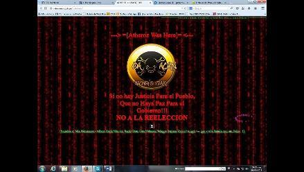 Chiclayo: hackean página web de la Municipalidad de Mórrope