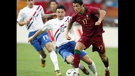 Portugal y Holanda jugaron el partido con más tarjetas de los mundiales
