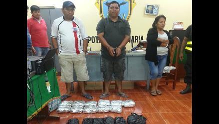 Tingo María: policía de carretera decomisa más de 42 kilos de cocaína