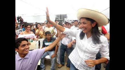 Lambayeque: Primera Dama llegó a Chiclayo a cumplir agenda partidaria