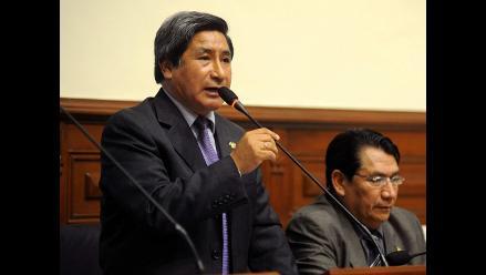 Modesto Julca solicita designación de Consejo Transitorio en Áncash
