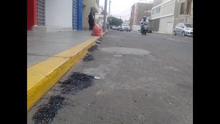 Lluvia de ceniza genera malestar en pobladores de Trujillo