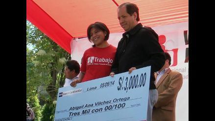 Huancayo: viceministro de Trabajo entregó capitales a microempresas