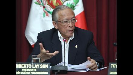 Reeligen a Humberto Lay como presidente de la Comisión de Ética