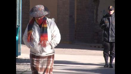 Sensación de frío se incrementará durante el fin de semana en Arequipa