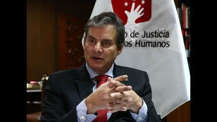 Ministro de Justicia: es inconstitucional acuerdo para interrogar a Humala