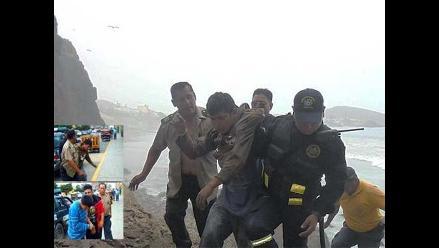 Huaral: policías capturan a tres delincuentes que robaron a turistas