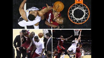 Revive lo mejor de la primera final de la NBA entre los Spurs y los Heat