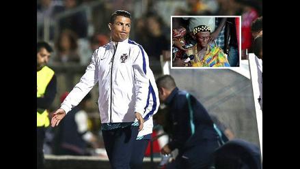 ¿Brujo de Ghana responsable de lesión rodilla de Cristiano Ronaldo?