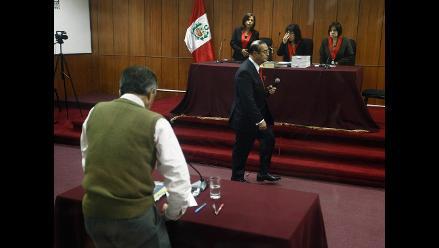 Montesinos se negó a declarar en juicio por caso ´diarios chicha´