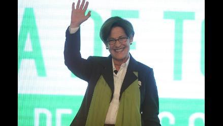 Susana Villarán anuncia que buscará reelección a la alcaldía de Lima