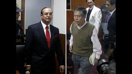 Fujimori y Montesinos cara a cara en audiencia por ´diarios chicha´
