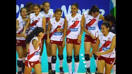 Perú venció 3-2 a Puerto Rico en cuadrangular amistoso de voleibol