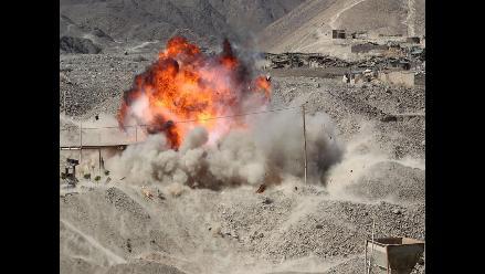 Policía intervino tres canteras de minería ilegal en Nasca