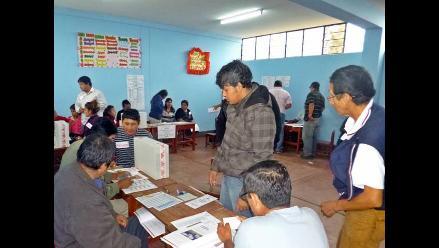 Lambayeque: 862 mil 91 electores acudirán a las urnas en octubre