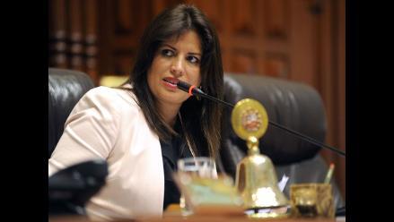 Carmen Omonte plantea tres años de cárcel para depravados
