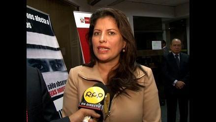 Omonte muestra respaldo a proyecto de Unión Civil