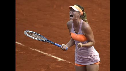 María Sharapova se consagra en Roland Garros