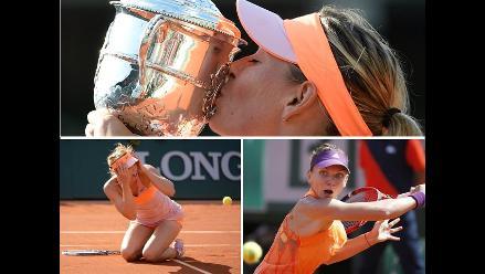 Así consiguió María Sharapova su segundo Roland Garros