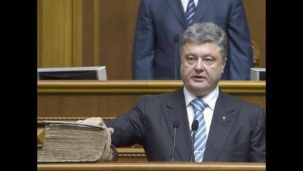 Petró Poroshenko: ´Crimea fue, es y será ucraniana´