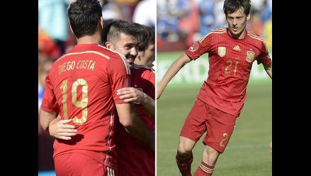 Mira las mejores imágenes del triunfo de España 2-0 ante El Salvador