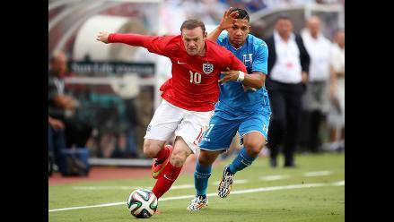 Honduras e Inglaterra empatan antes del Mundial de Brasil