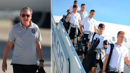 Brasil 2014: Inglaterra llega a Río de Janeiro a seis días de su debut