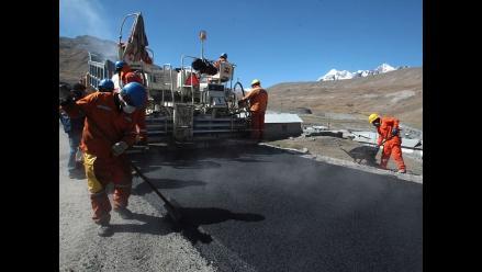 Regiones ejecutan 38% de presupuesto en infraestructura