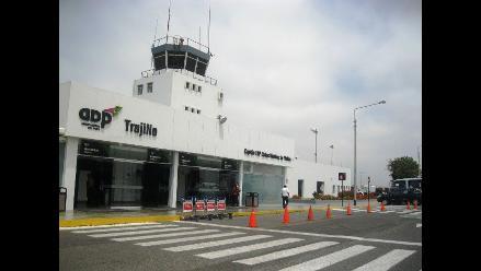 Trujillo: mal tiempo obliga a cancelar vuelo en aeropuerto