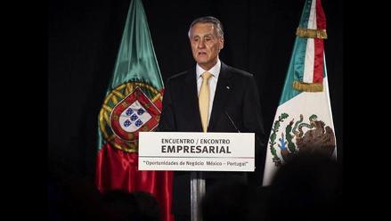 Presidente portugués Aníbal Cavaco se desmaya durante su discurso