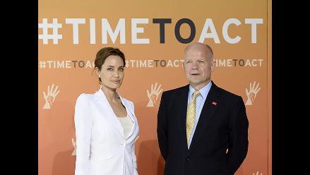 Angelina Jolie inauguró Cumbre de la ONU contra la violencia sexual