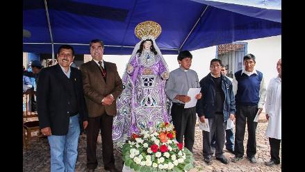 Cusco: imagen de Santa Bárbara de Poroy fue restaurada