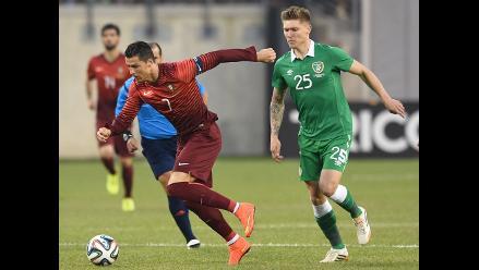 Cristiano Ronaldo superó lesión y es figura en triunfo de Portugal