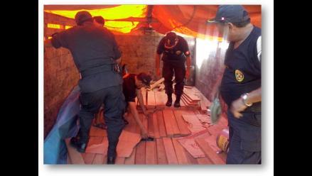 Tingo María: decomisan más de 46 kilos de clorhidrato de cocaína