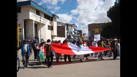 Barranca: trabajadores de construcción civil realizaron movilización